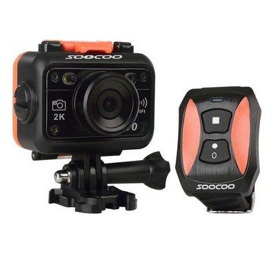 SOOCOO秀客s70戶外運動相機4k防水攝影機2.4g無線遙控航拍 1232