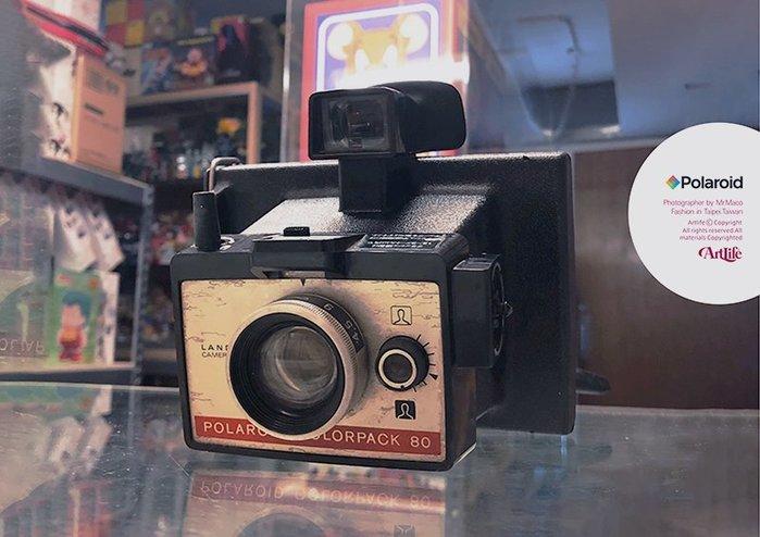 ArtLife @ Polaroid Colorpack 80 LAND CAMER Vintage 拍立得 老相機