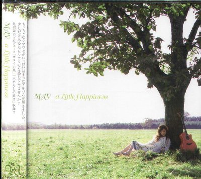 K - MAY - A Little Happiness - 日版 - NEW