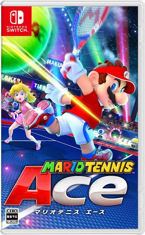 全新公司貨任天堂Switch遊戲【瑪利歐網球 王牌高手 Mario Tennis Ace】阿嚕咪