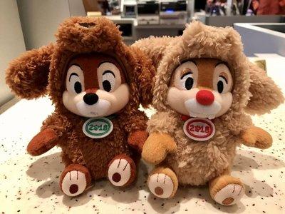 東京迪士尼 TOKYO DISNEY CHIP DALE 奇奇蒂蒂 狗年 吊飾 *購自日本**