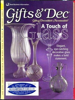 【語宸書店G637/雜誌】《Gifts & Decorative Accessories-2002年8月》Reed Business Information