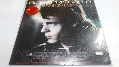 二手珍藏黑膠唱片 RICK SPRINGFIELD瑞克·史普林菲爾 / HARD TO HOLD 神魂顛倒電影原聲帶