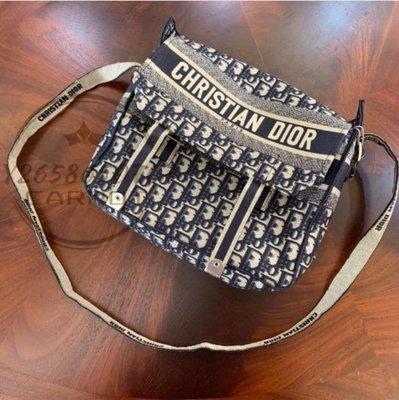二手精品 Dior 迪奧 DIORCAMP 手袋 信使包 郵差包 肩背包 斜挎 正品現貨