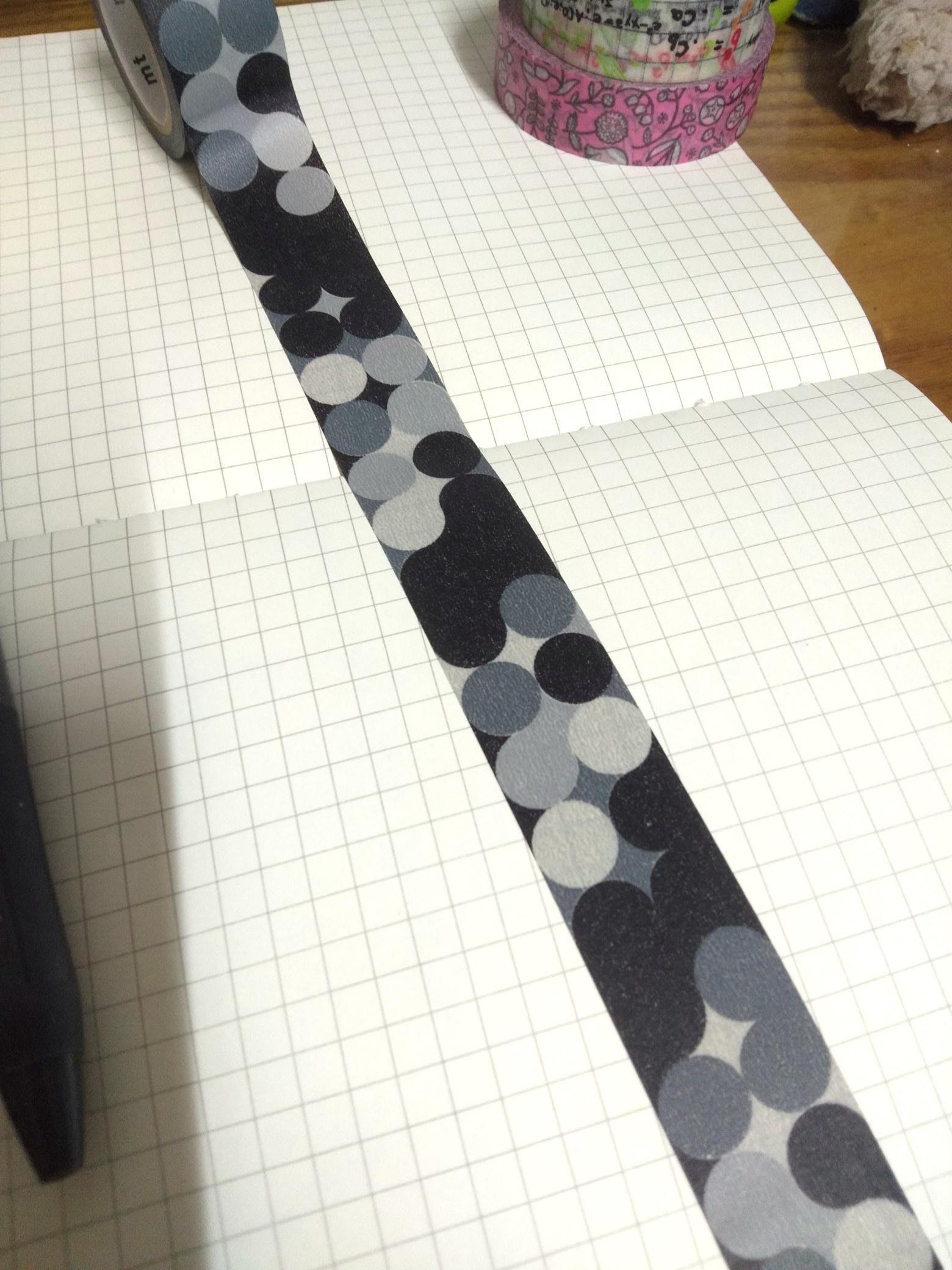 【R的雜貨舖】紙膠帶分裝(非整捲)  日本mt和紙膠帶 mt fab 黑板 點點