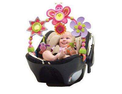 【魔法世界】Tiny Love 造型轉盤拉球玩具/嬰兒手推車/汽座提籃  兩款青蛙/蝴蝶