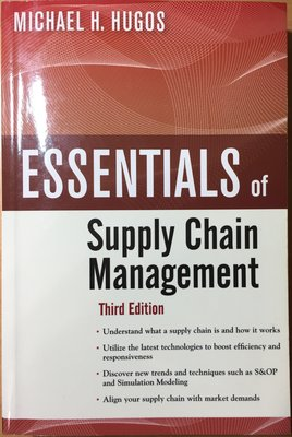 二手書:Essentials of Supply Chain Management供應鏈管理