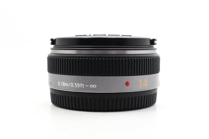 【高雄青蘋果】Panasonic LUMIX 14MM F2.5 G ASPH M4/3 定焦鏡 二手鏡頭 #21699