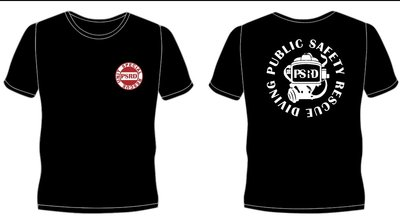 ~•Asia Diver•~公共安全救援潛水T-shirt~Public Safety Rescue Diving