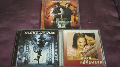 [經典電影原聲帶] 飆風戰警、留住最後一支舞、留住一片情(流星初戀)..等3張二手CD