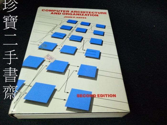 【珍寶二手書齋3B8】《Computer Architecture and Organization0071004793