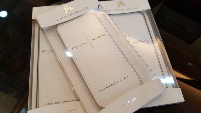iPhone 6s 鋁合金邊框/白銀色系/時尚輕巧/手機邊框/手機殼/手機周邊/耐磨/耐摔