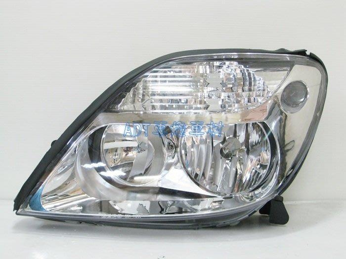 ~~ADT.車燈.車材~~RENAULT 雷諾 SCENIC 01 02 03 04 原廠型晶鑽大燈 單邊價