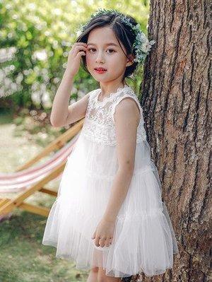 【曼妮婚紗禮服】3件免郵~女童花童禮服...