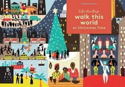 全新 現貨 Walk this World at Christmas Time 翻翻書