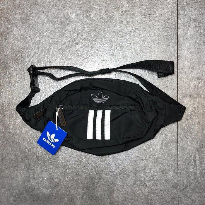 【Faithful】ADIDAS National 3 Stripes Waist Pack【CM3824】腰包 黑