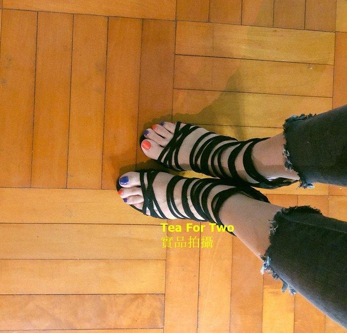 出清特賣,幾乎新的,黑色綁帶性感高跟鞋