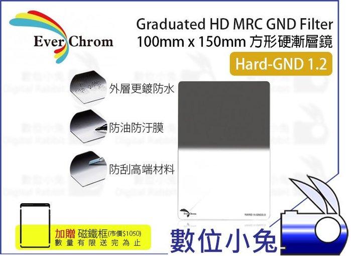 數位小兔【EverChrom Hard GND 1.2 硬式方形漸層鏡】贈磁鐵框 送完為止ND16 100x150mm