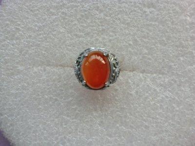 紅玉髓戒指