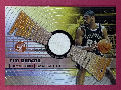 2002-03 Topps Pristine Portions Relic Jersey Tim Duncan