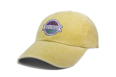 【ScrewCap】Stussy Pigment Washed Low Pro Cap MUSTARD