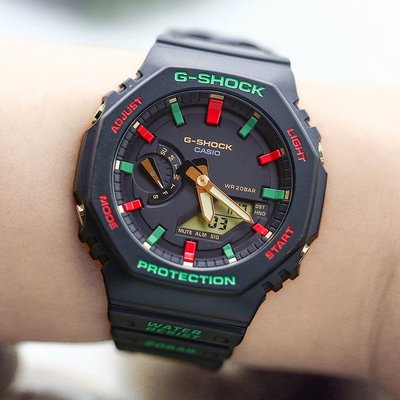 時尚手錶 卡西歐手錶G-SHOCK GA-2100TH-1A/4A/THB-7A/2110SU-3A電子男腕錶