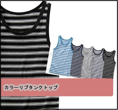 ├UFC┤UNIQLO 男裝【條紋背心 健身衫 內著 外穿 夏日首選 海灘男孩必入荷】(064336) 現貨