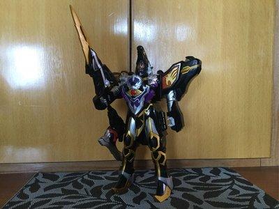 中古 日版 DX BANDAI 魔法戰隊 魔導騎士 魔狼合體