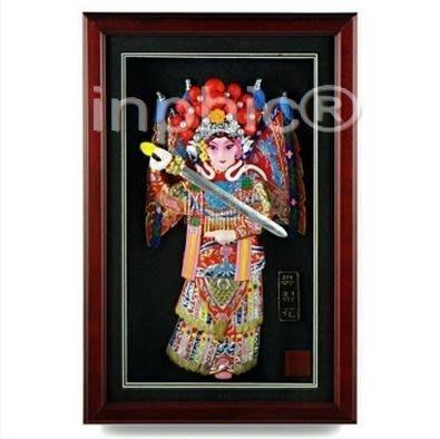 INPHIC-中國特色冷瓷浮雕相框家居酒店裝飾擺飾壁掛 外事出國