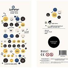 【兔子先生】台灣現貨!! sonia 笑臉貼紙 微笑貼紙 可愛 手帳 裝飾 貼紙
