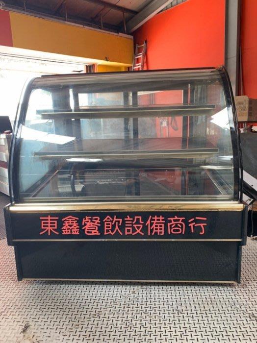 中古 二手 4尺3層蛋糕櫃 電壓220V