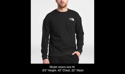 【紐約范特西】現貨 The North Face MEN'S '92 RAGE FLEECE CREW 棉T 黑/黃
