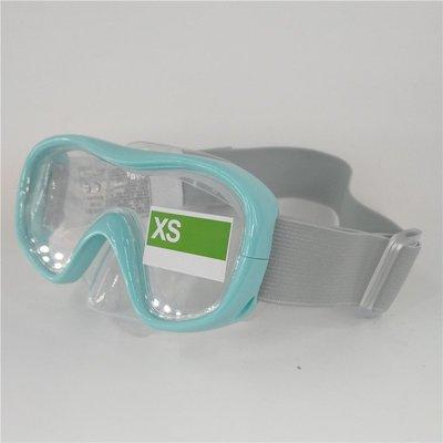 潛水鏡迪卡儂 游泳眼鏡成人兒童浮潛面罩潛水鏡防霧潛水裝備SUBEA遊泳鏡