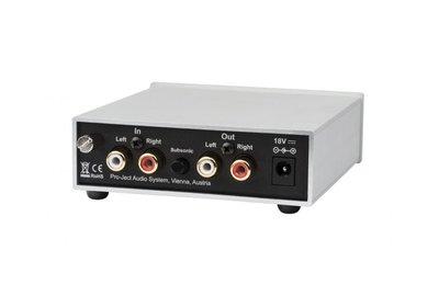 黑膠唱片機pro-ject 寶碟 Phono Box S2 MM&MC黑膠唱機唱頭放大器唱放