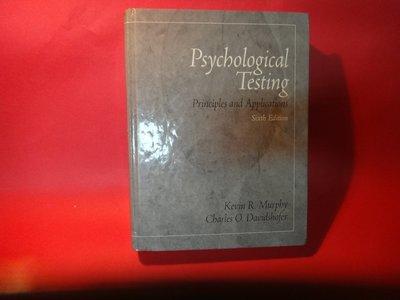【愛悅二手書坊 01-09】Psyhological Testing sixth edition