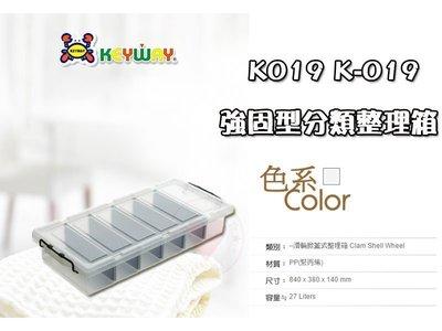 ㊣愛瘋客㊣ 強固型分類整理箱 KEYWAY 床下收納整理箱 整理箱/收納箱/換季/棉被收納 K019