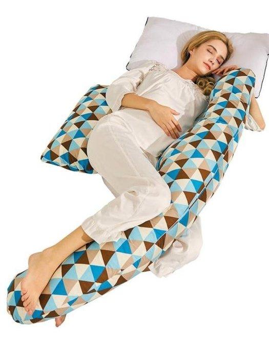 孕婦枕護腰側睡枕頭u型枕靠抱枕托腹墊子側臥枕孕睡覺神器