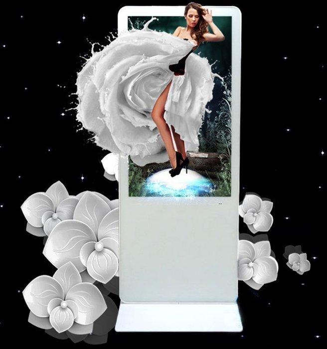 【新潮科技】50吋直立式廣告機《單機版》導覽機 商場 學校 電梯  電影院 銀行 賣場必備 查詢機 顯示器 圖片影片分屏