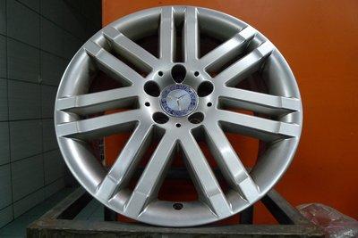 桃園 小李輪胎 17吋BENZ原廠前後配中古鋁圈 AUDI VW Skoda 5孔112 ET40以上車適用