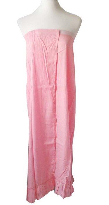 ☆°萊亞生活館 °【A539美容裙-粉紅色】美容衣-SPA袍-浴袍
