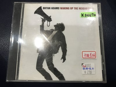 *真音樂*BRYAN ADAMS / WAKING UP THE 二手 K24670