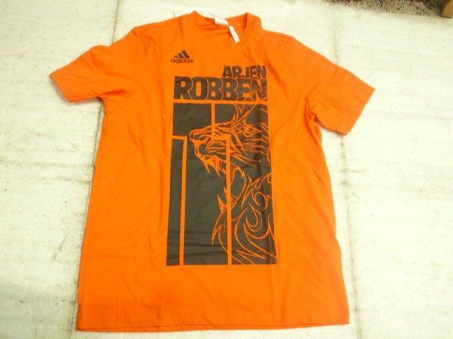 【n0900台灣健立最便宜】(2018世界盃足球賽相關商品賣戈報人來啊)ADIDAS 荷蘭短袖T恤-F94804
