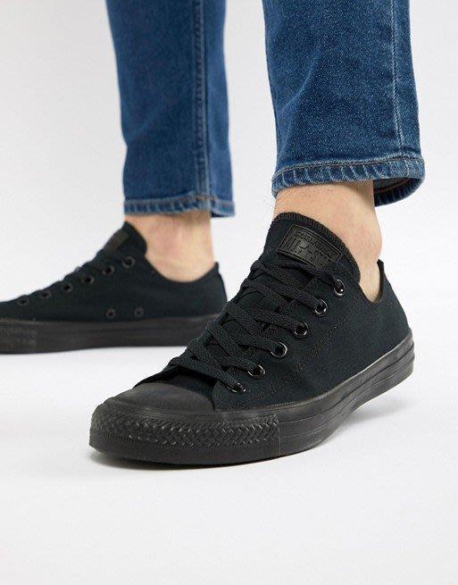 【吉米.tw】Converse ALL STAR 低筒 帆布鞋 復古 黑白 基本款 男女鞋 M9166C AUG