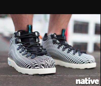 GCTC NATIVE FITZSIMMONS / JIFFY BLACK HRGBN SHELL WHITE 登山靴