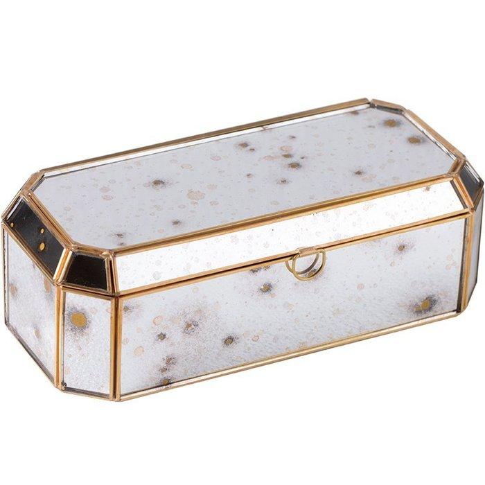 MAJ.POINT-珠寶首飾品盒 托盤 復古做舊 金屬色 收納盤手錶項鍊美甲展示 INS 歐式 現代 攝影拍照道具 摩登