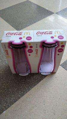 麥當勞 2013粉色  2016兩款色   可口可樂 玻璃杯