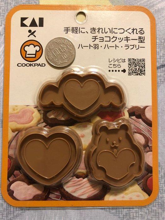 甜心熊餅乾壓模組