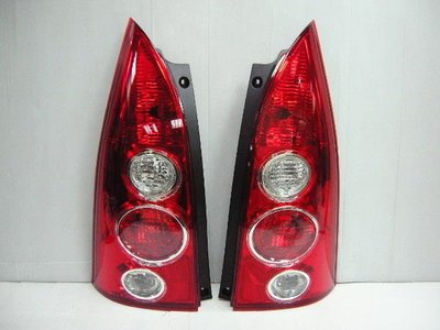 @Tokyo東京車燈部品@ MAZDA 馬自達 PREMACY 原廠型紅白尾燈一組3200元 DEPO製