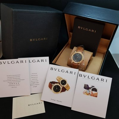 《三福堂國際珠寶名品》BVLGARI Bvlgari Bvlgari 18KYG