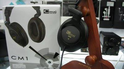 (新竹Nova立聲音響) C Major CM1 耳罩式耳機 Double Diaphragm 單體 c-maj c maj